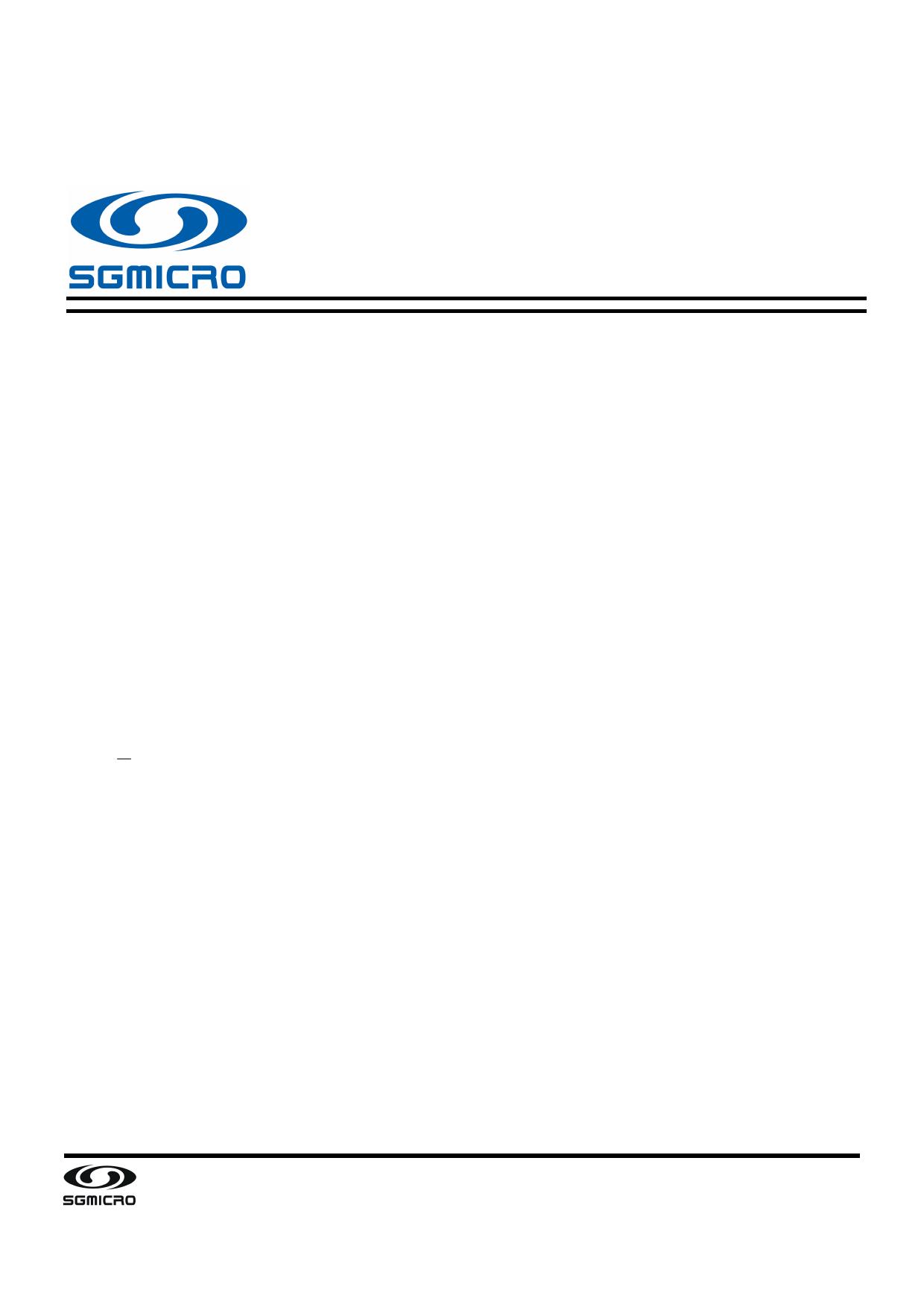 SGM8703 datasheet, circuit