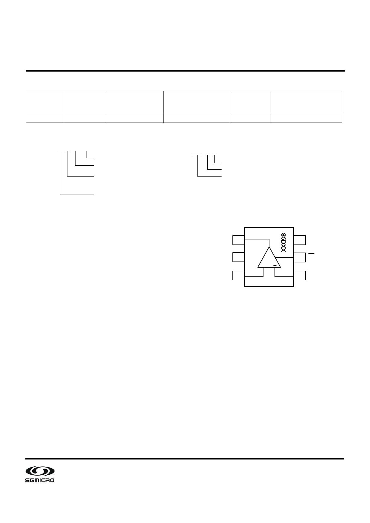 SGM8703 pdf, schematic