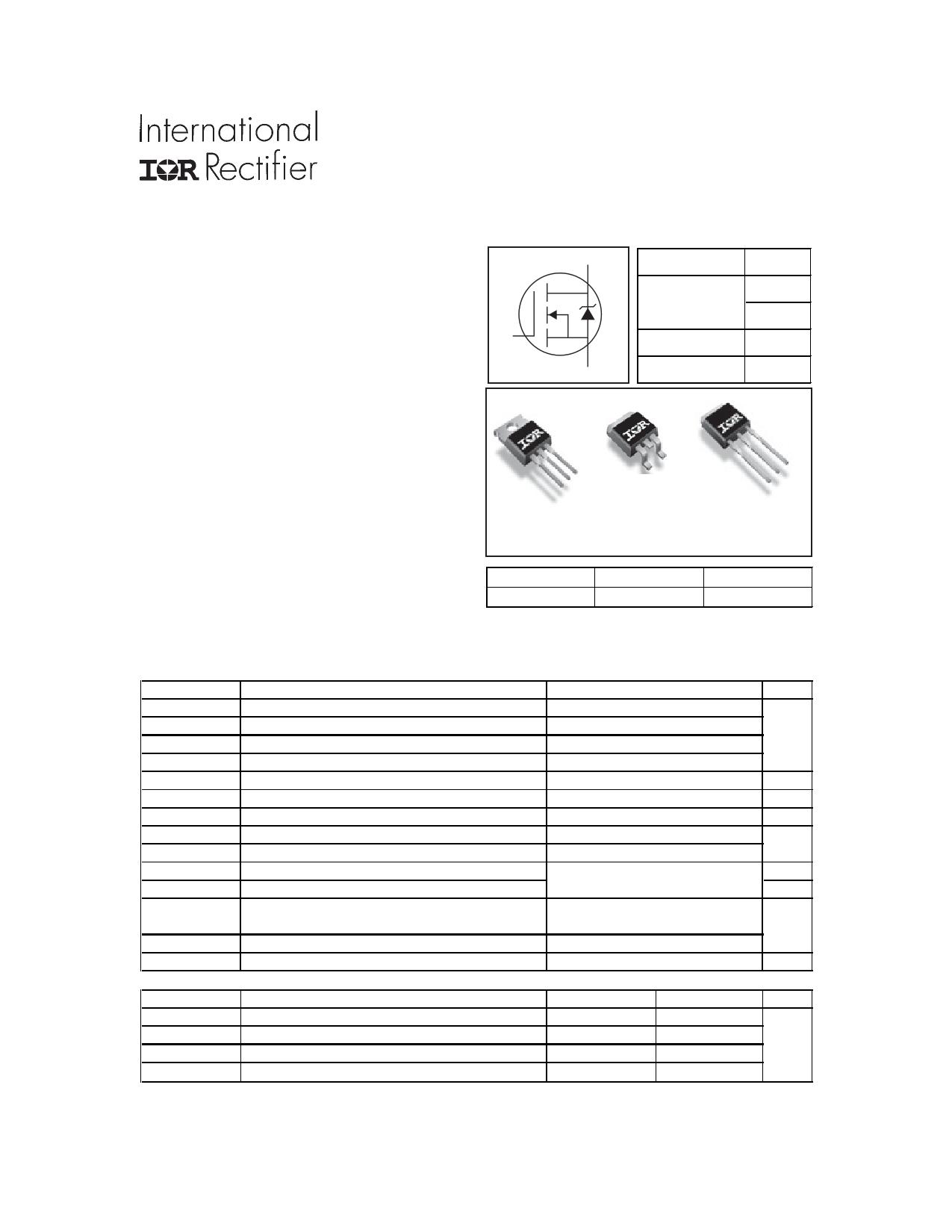 AUIRL1404ZL datasheet