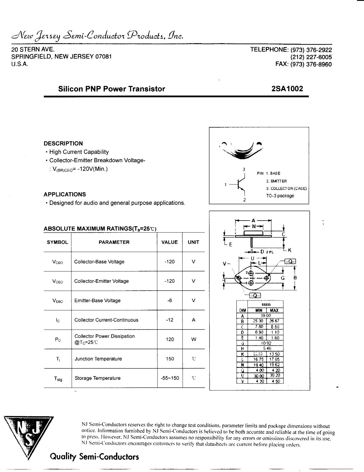 A1002 Datasheet, A1002 PDF,ピン配置, 機能
