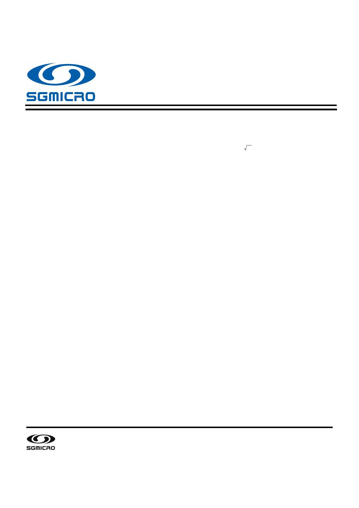 SGM8941 datasheet, circuit