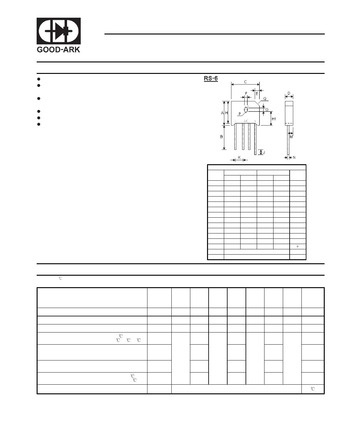 KBU4G datasheet