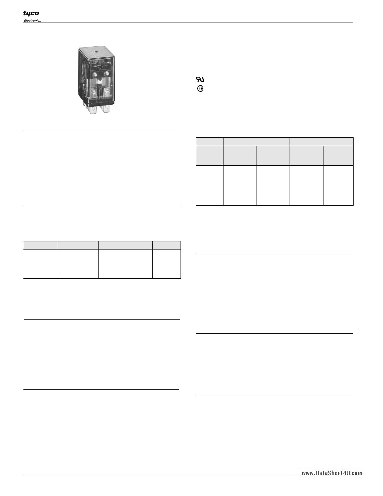 K10P-11D15-6 دیتاشیت PDF