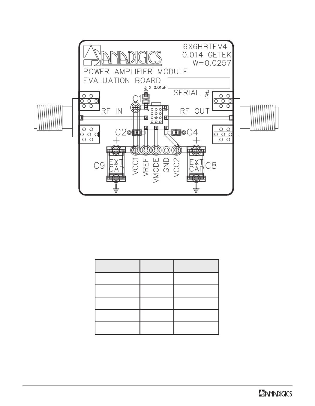 AWT6111 pdf, schematic