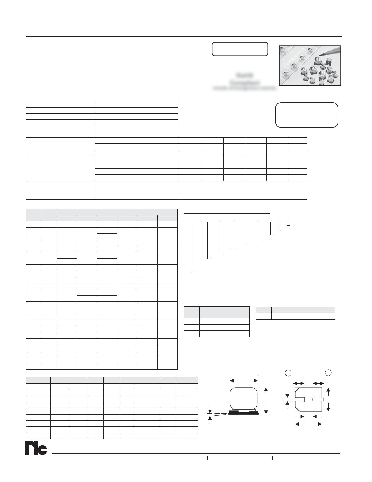 NAZJ470M16V6.3X6.1NBF دیتاشیت PDF