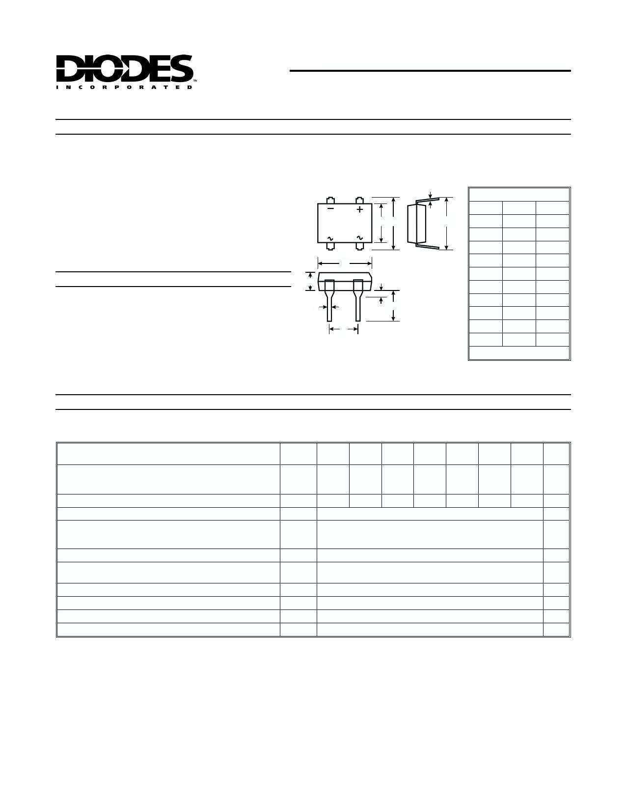 DF1510M даташит PDF