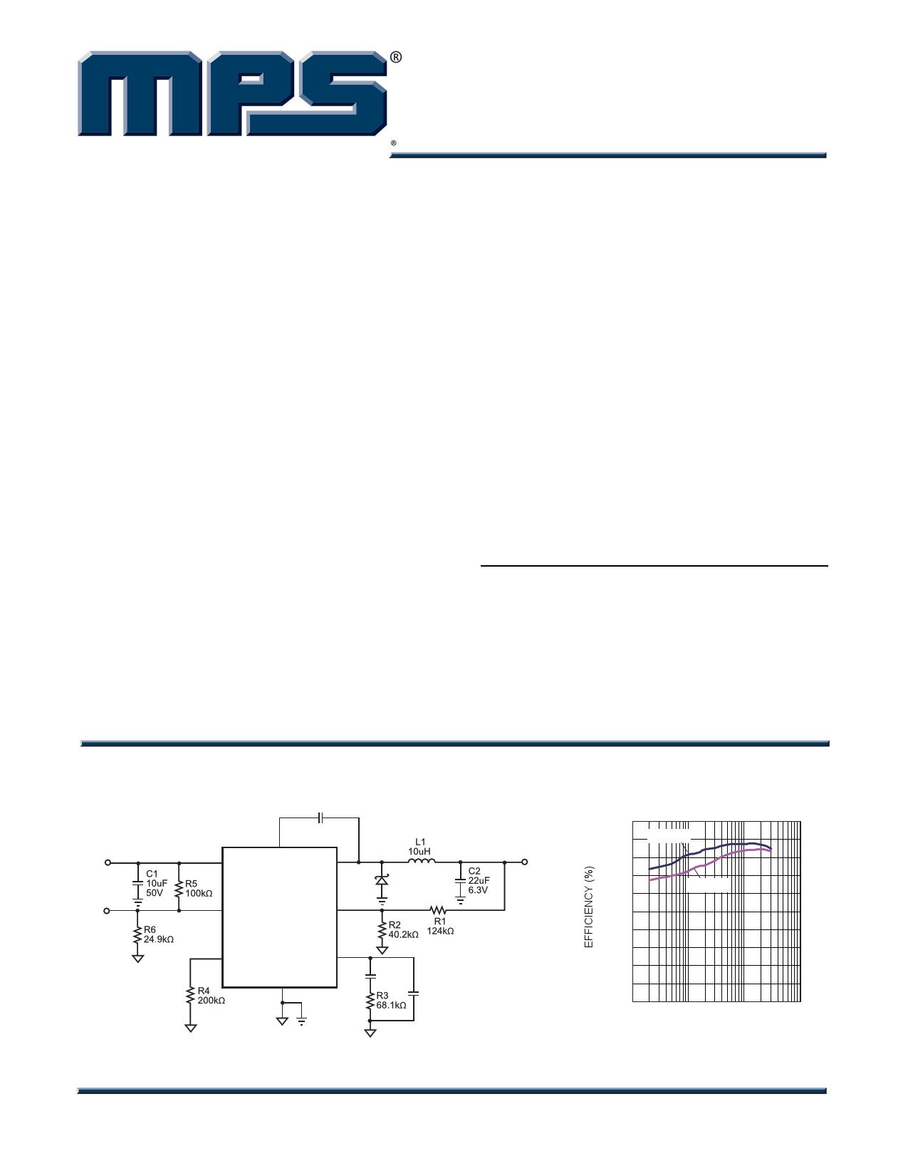 MP1584 Datasheet, MP1584 PDF,ピン配置, 機能