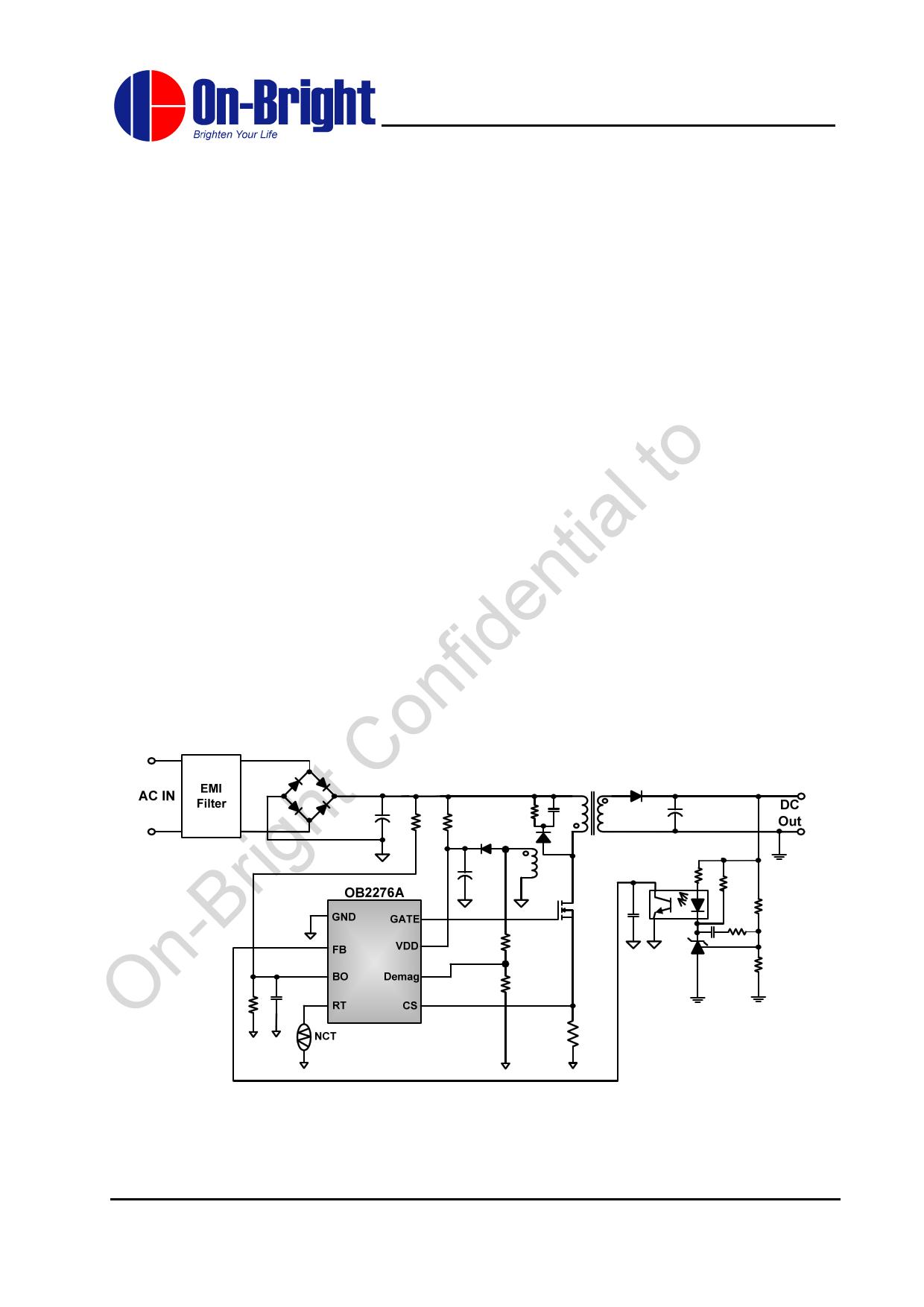 OB2276A دیتاشیت PDF