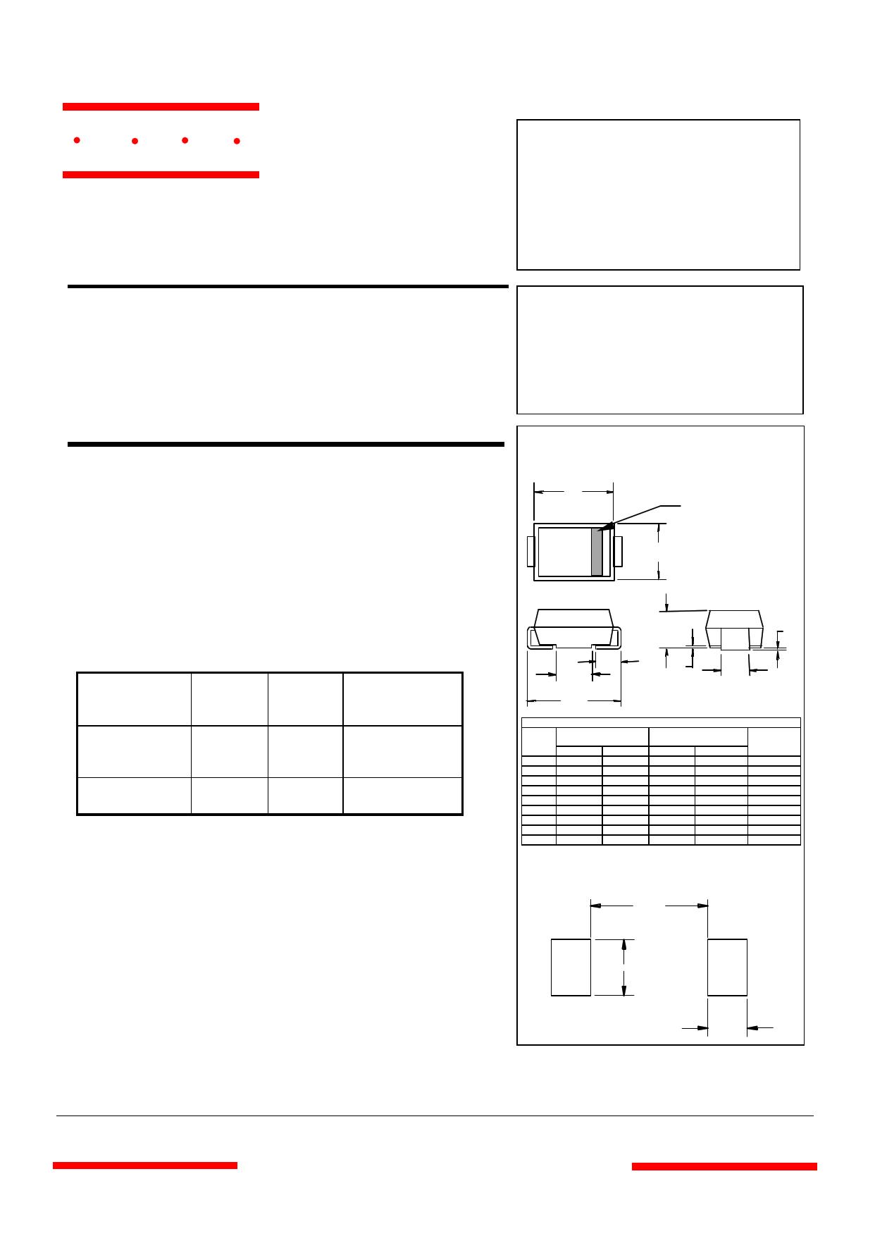 SMBJ5951 Datasheet, ピン配置, 機能
