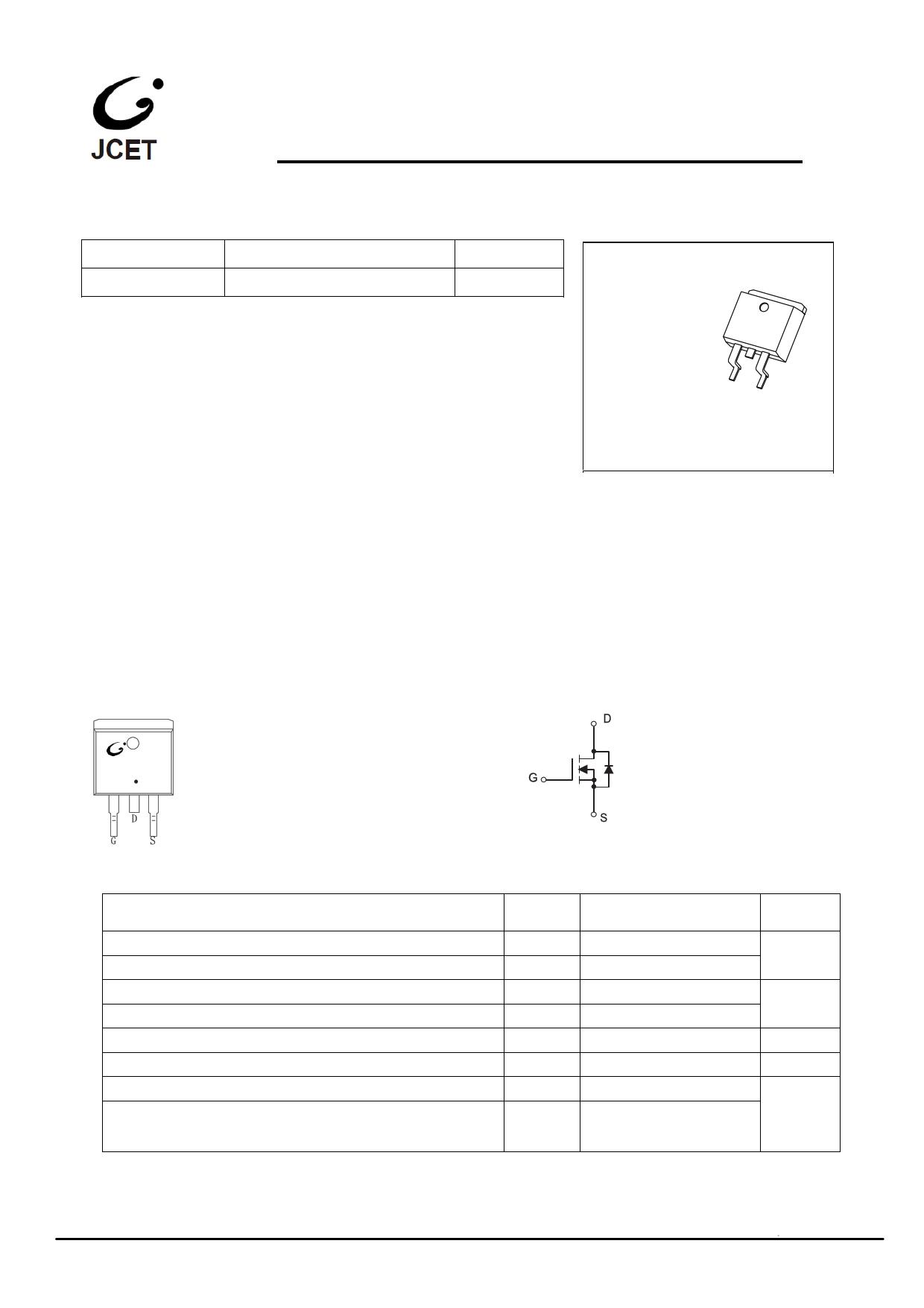 CJB08N65 دیتاشیت PDF