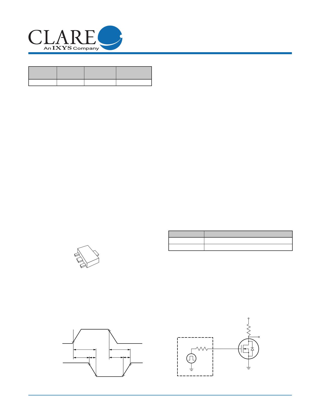 CPC3730C Datasheet, CPC3730C PDF,ピン配置, 機能