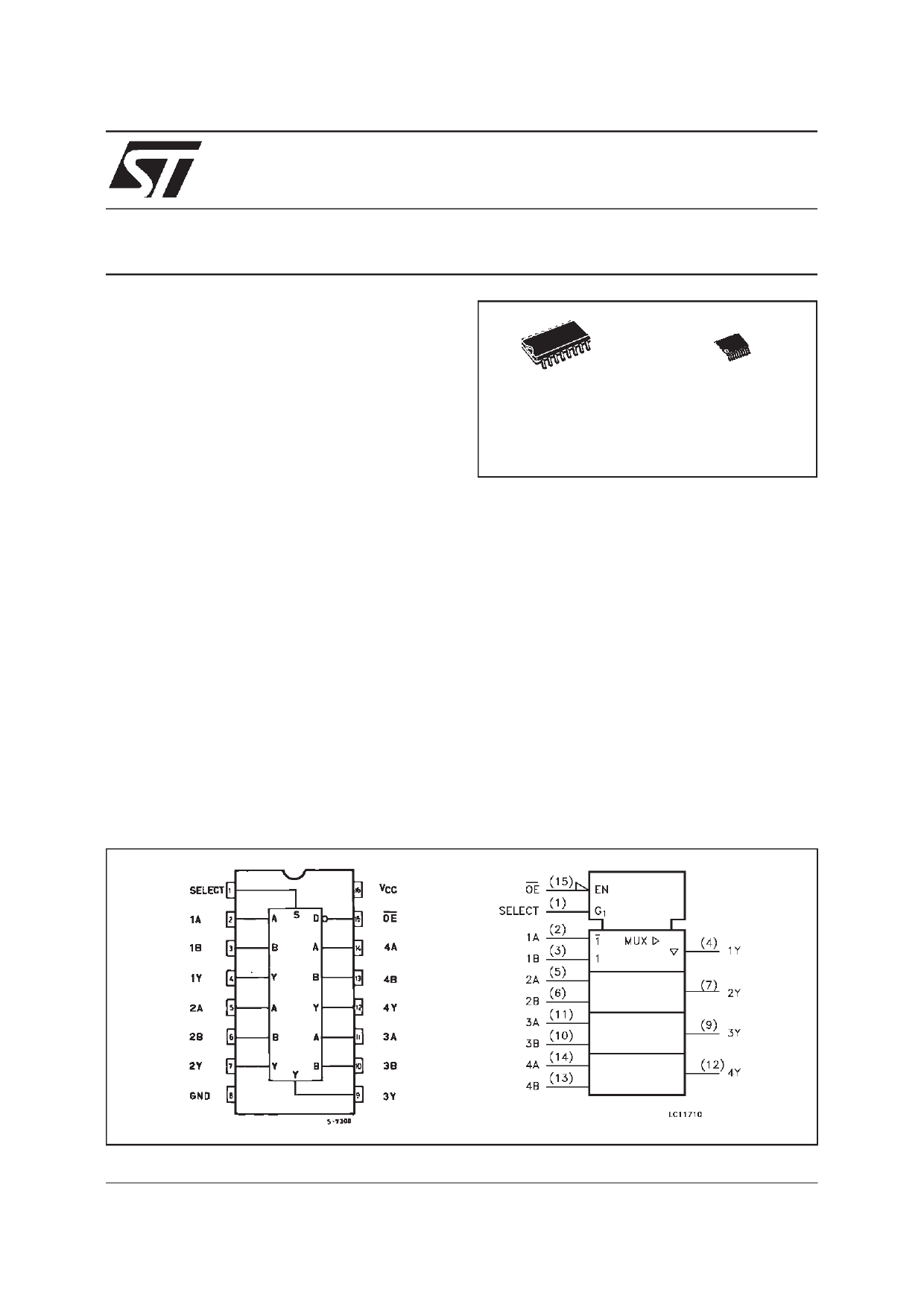 74VHC257 دیتاشیت PDF