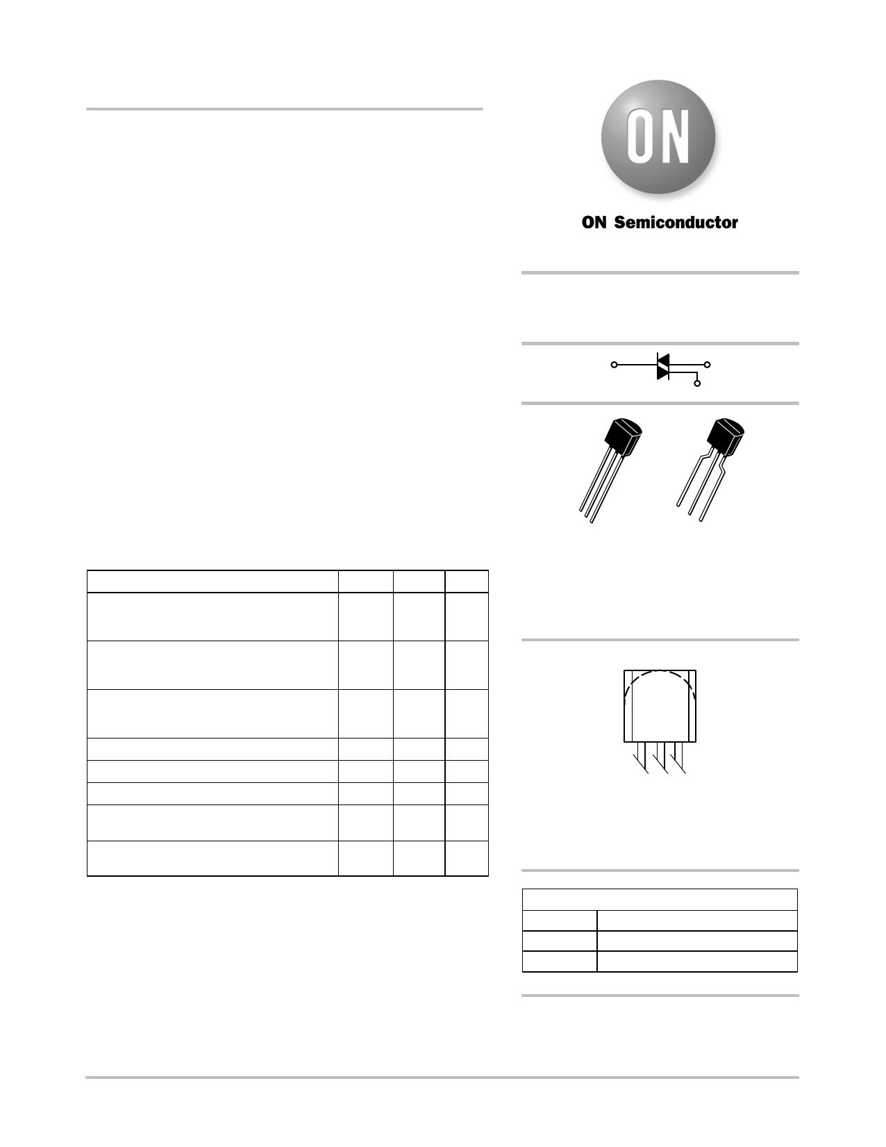 Z0103MA دیتاشیت PDF