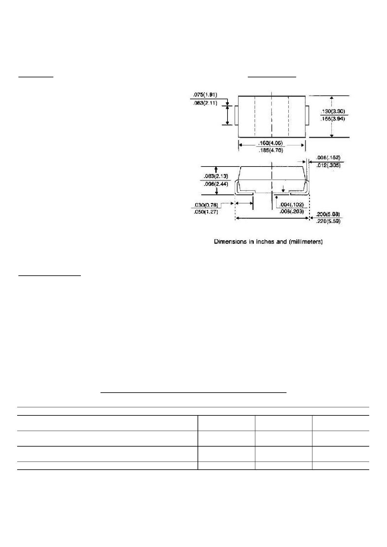 P6SMBJ5.0 دیتاشیت PDF