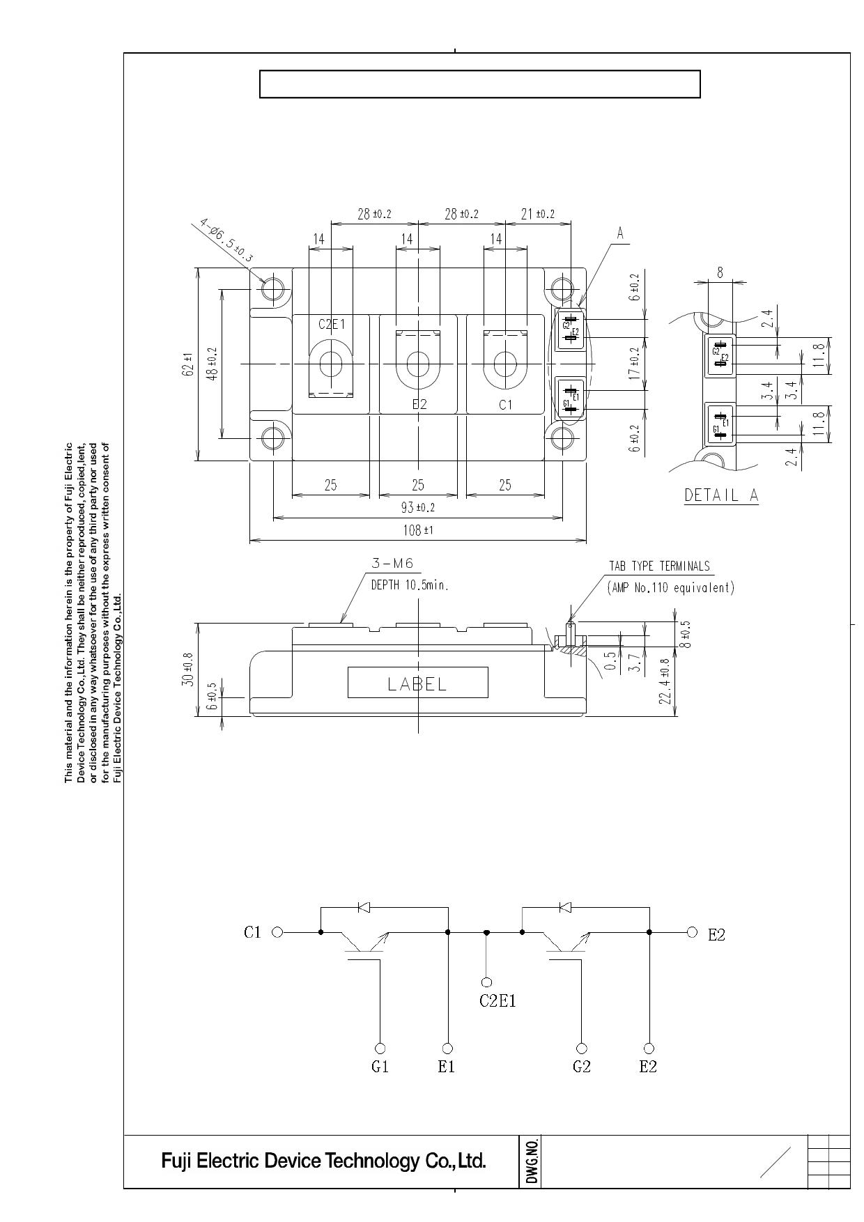 2MBI150U4H-170 Даташит, Описание, Даташиты