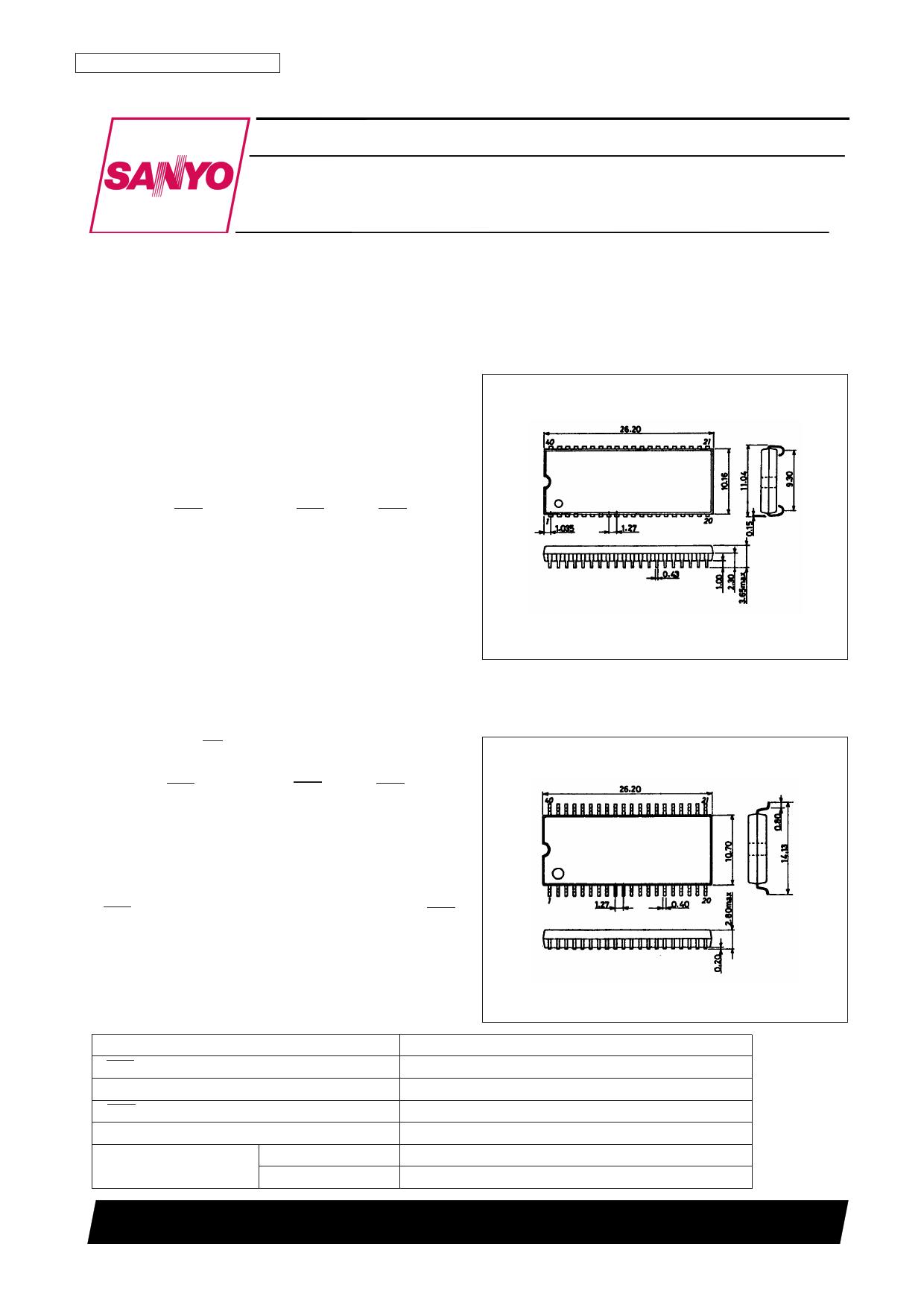LC321664AT-80 datasheet