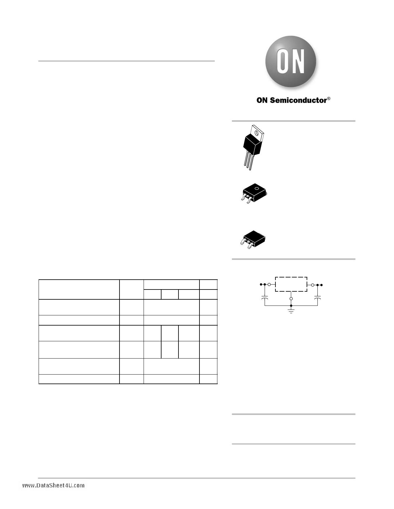 7805CT دیتاشیت PDF