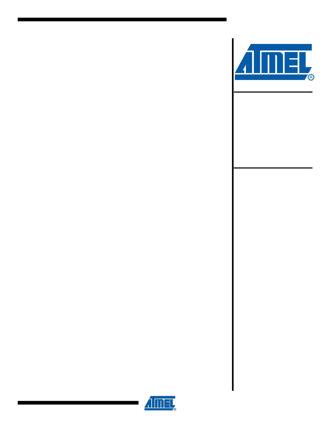 AT89LP51ED2 데이터시트 및 AT89LP51ED2 PDF