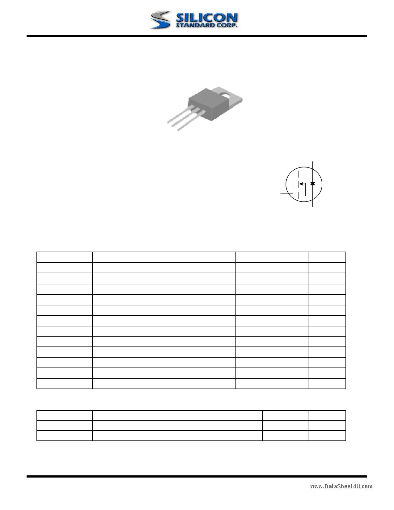 02N60P datasheet image