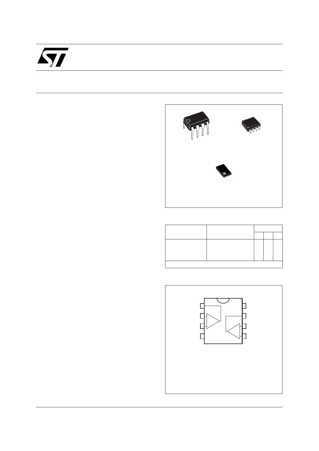 TS272C Datasheet, TS272C PDF,ピン配置, 機能