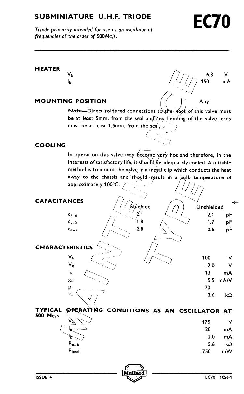EC70 دیتاشیت PDF