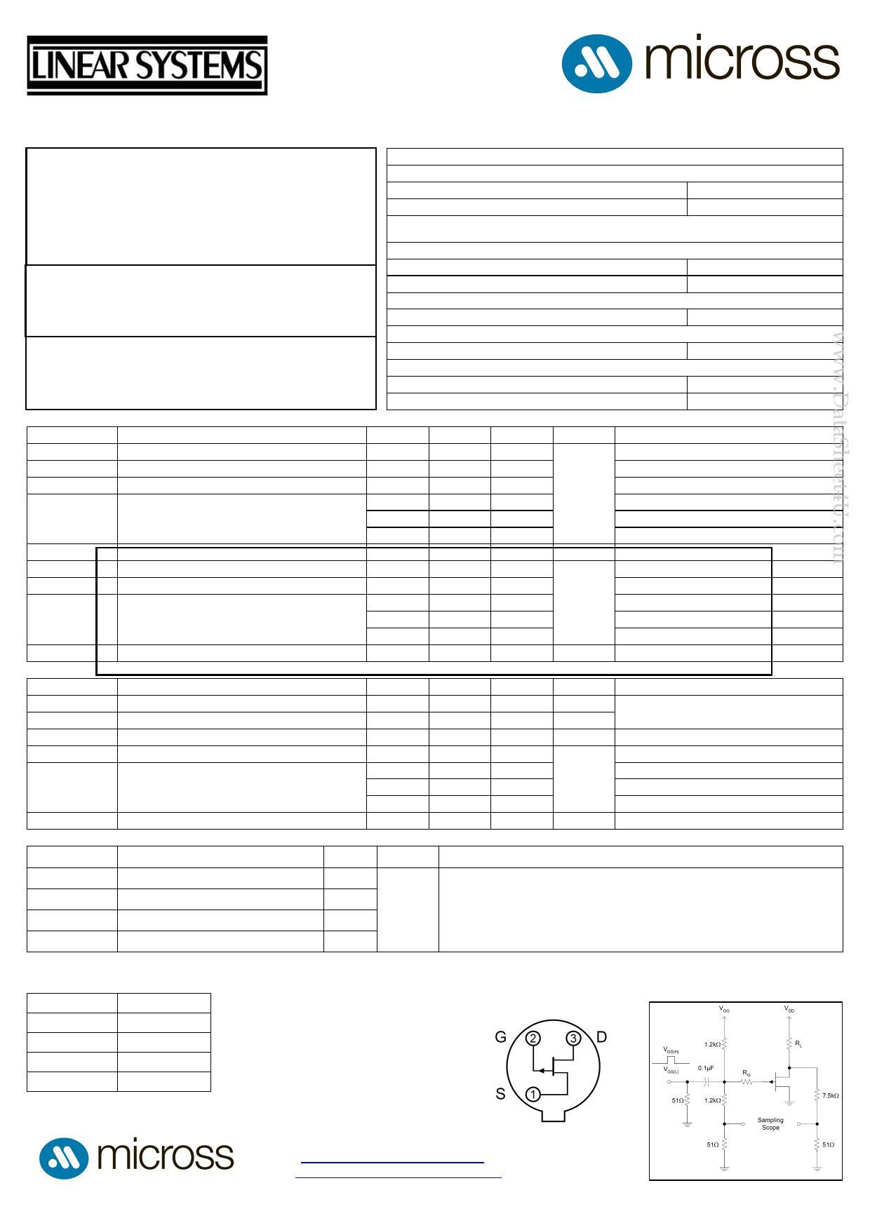 2N5115 Datasheet, 2N5115 PDF,ピン配置, 機能