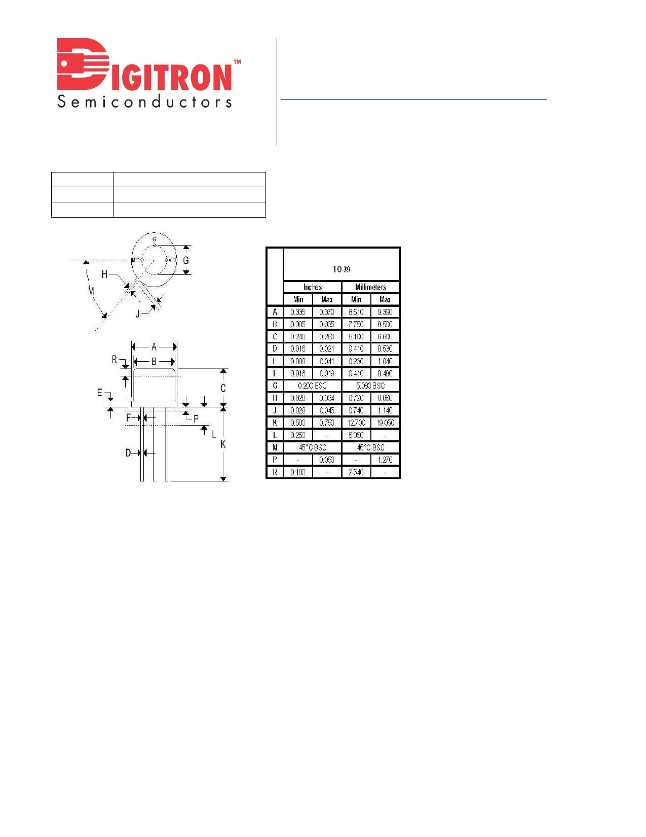 2N1599 pdf