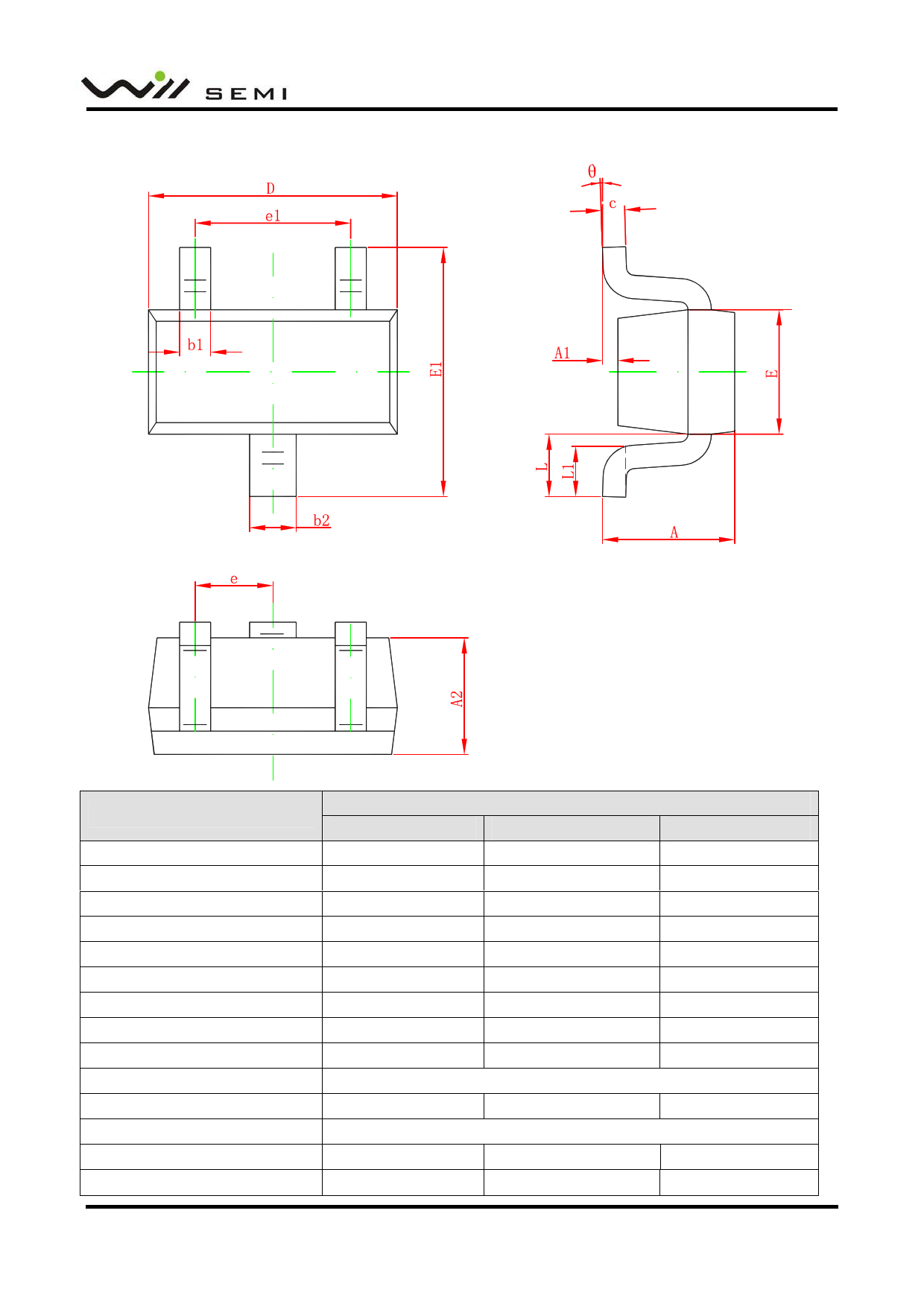 WPM2019 Datasheet, Funktion