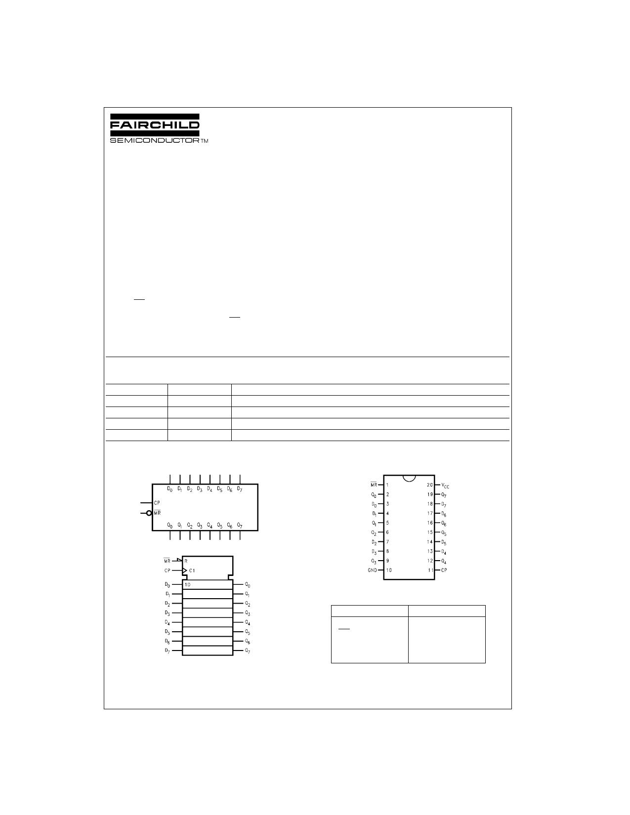 74VHC273MTC دیتاشیت PDF