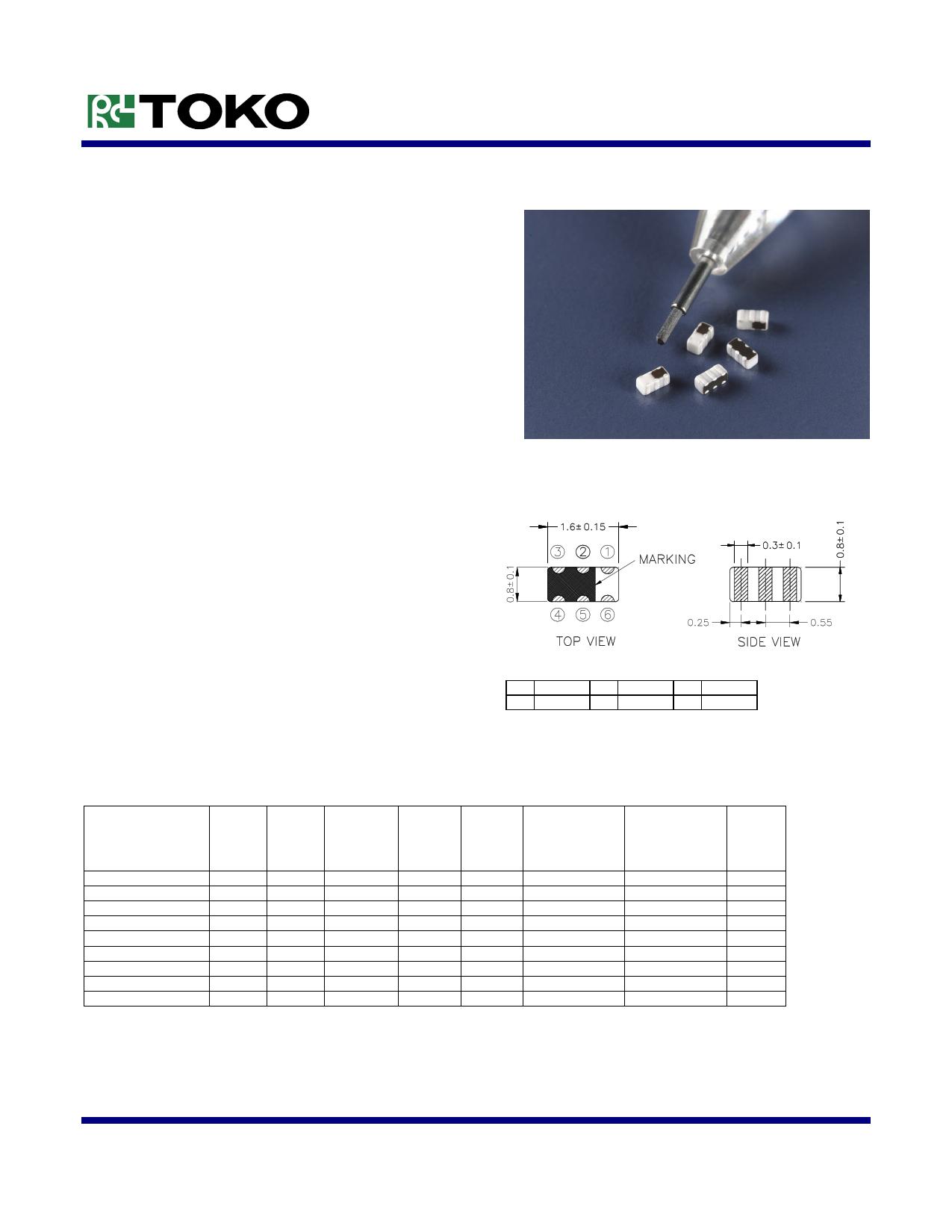 LTF1608L دیتاشیت PDF