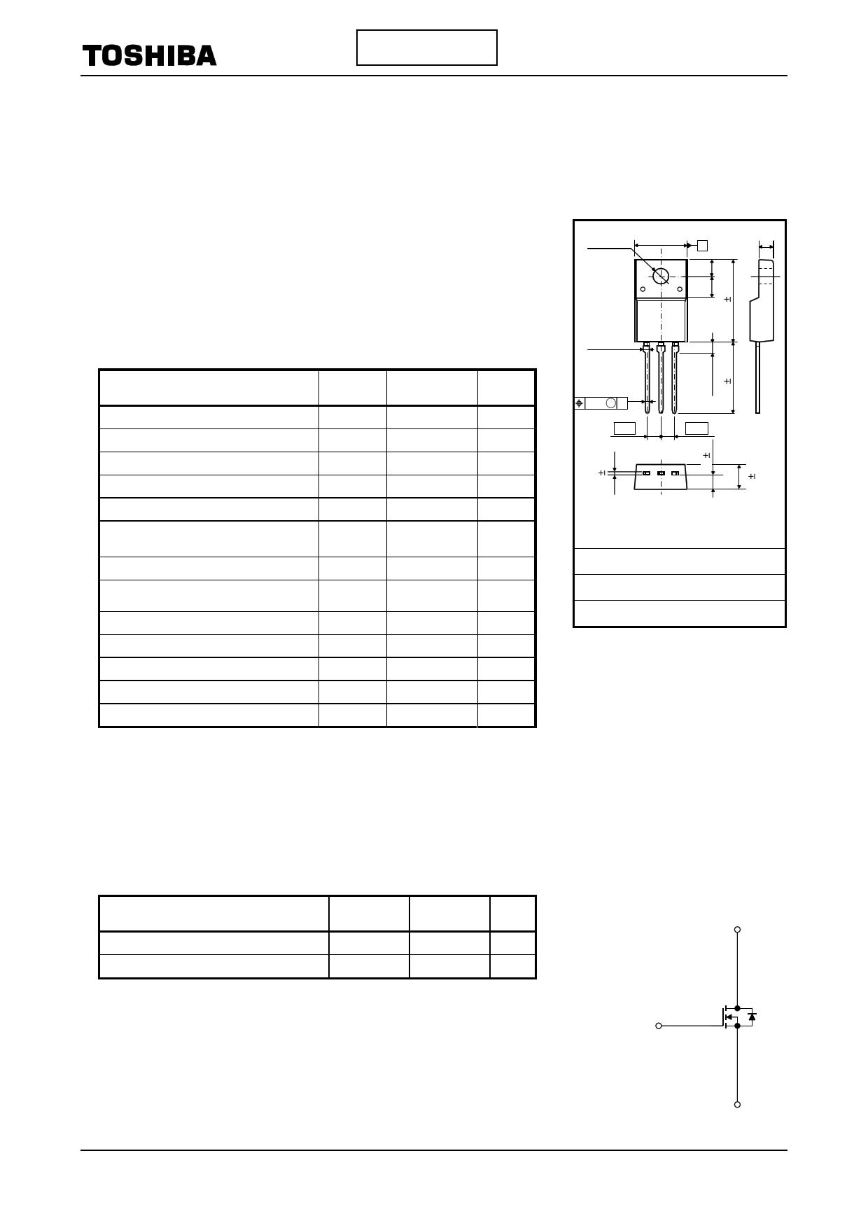 K10A60W دیتاشیت PDF