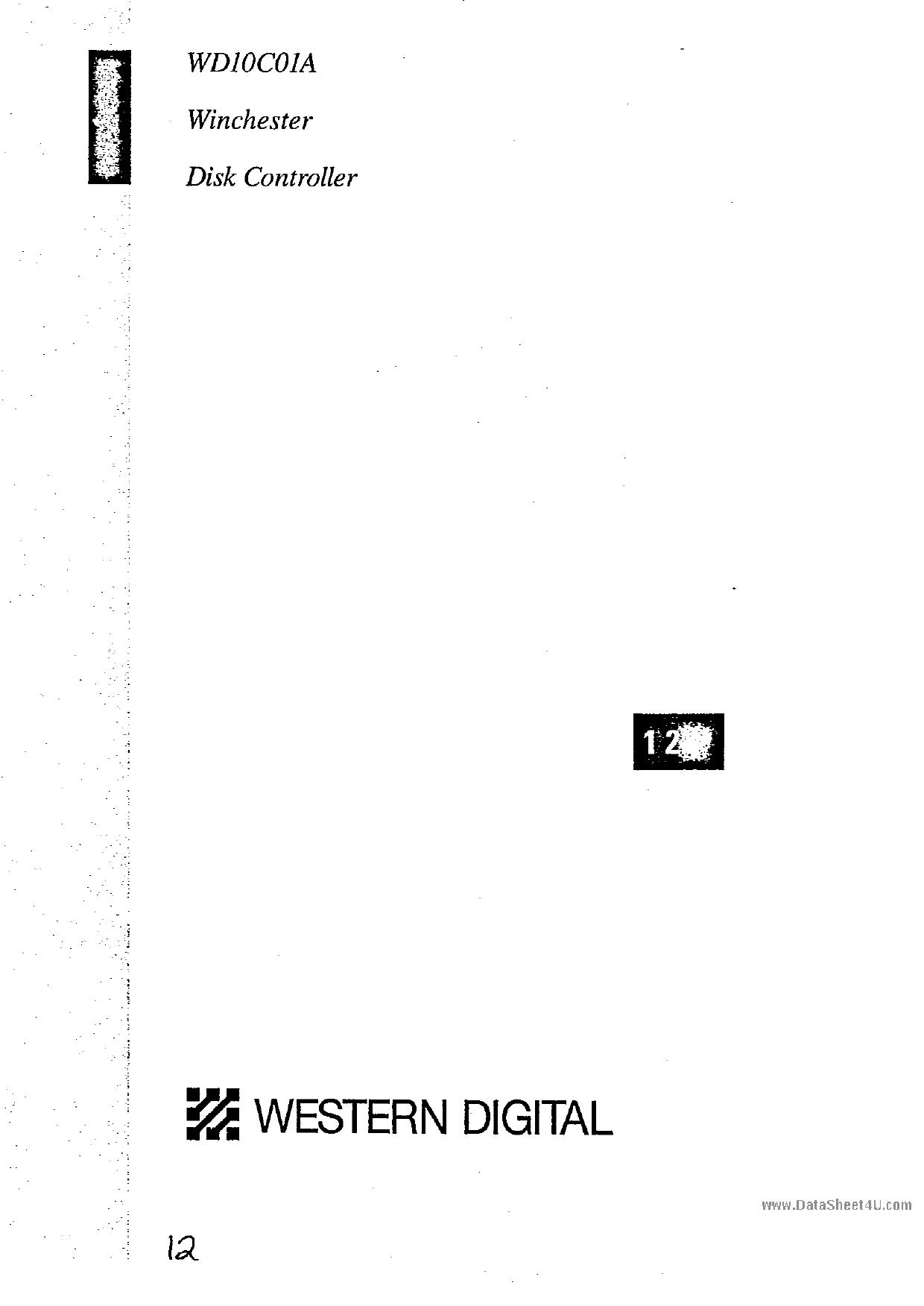 WD10C01A datasheet