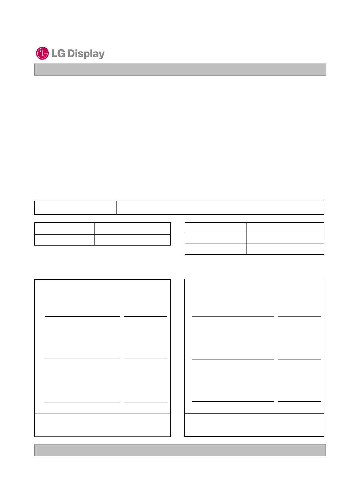 LC320WXN-SCA1 datasheet