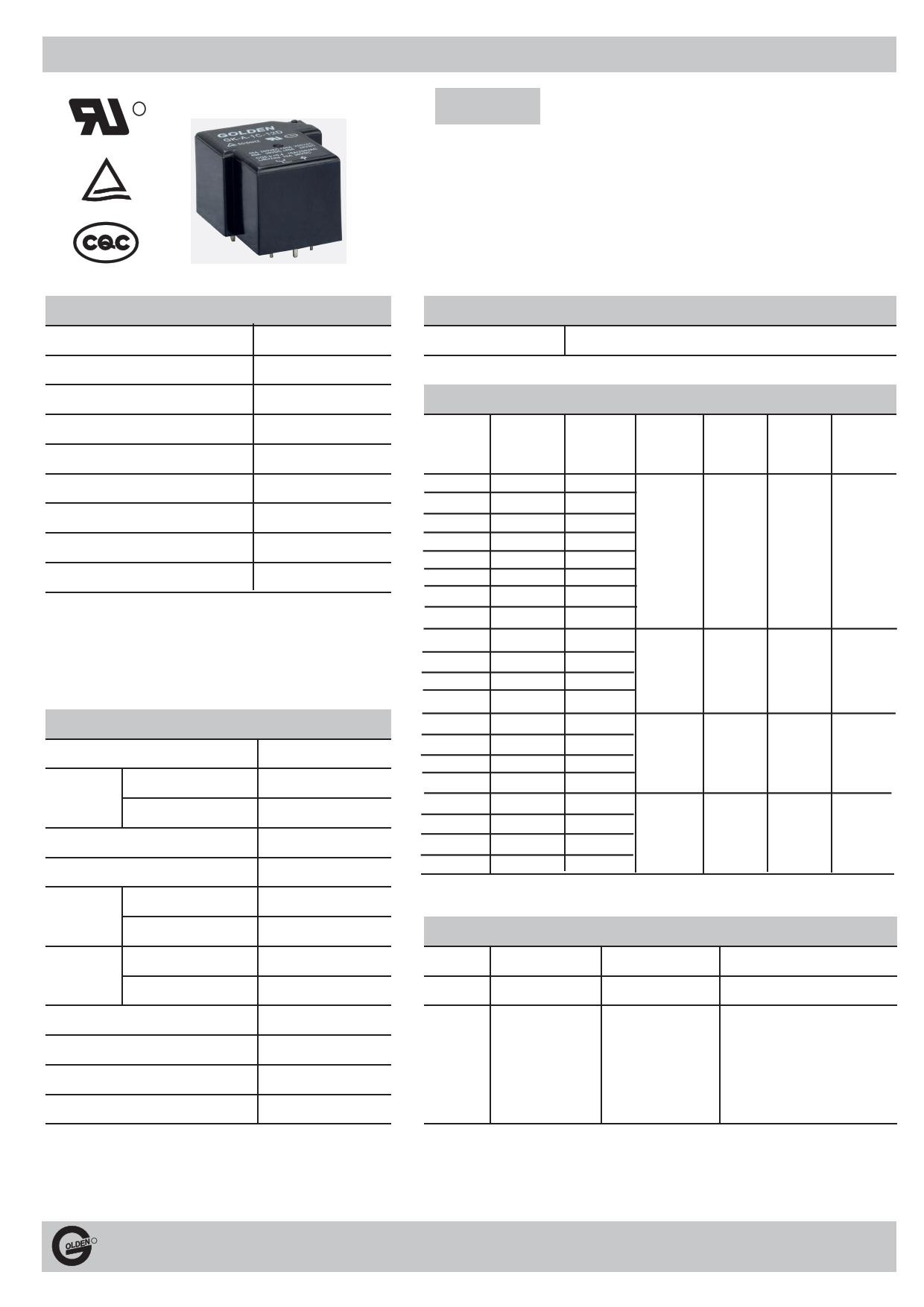 GK-A-1C دیتاشیت PDF