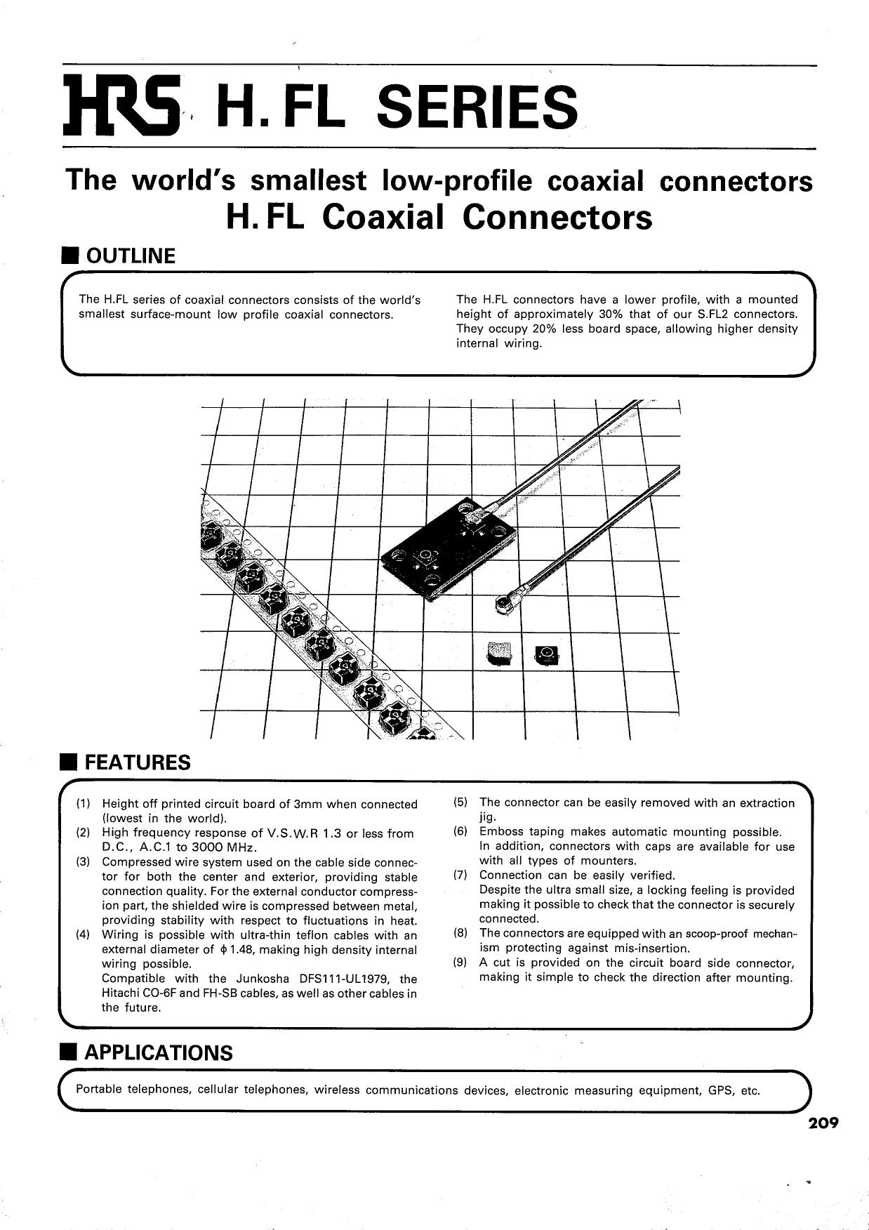 H.FL-LP-A32 datasheet