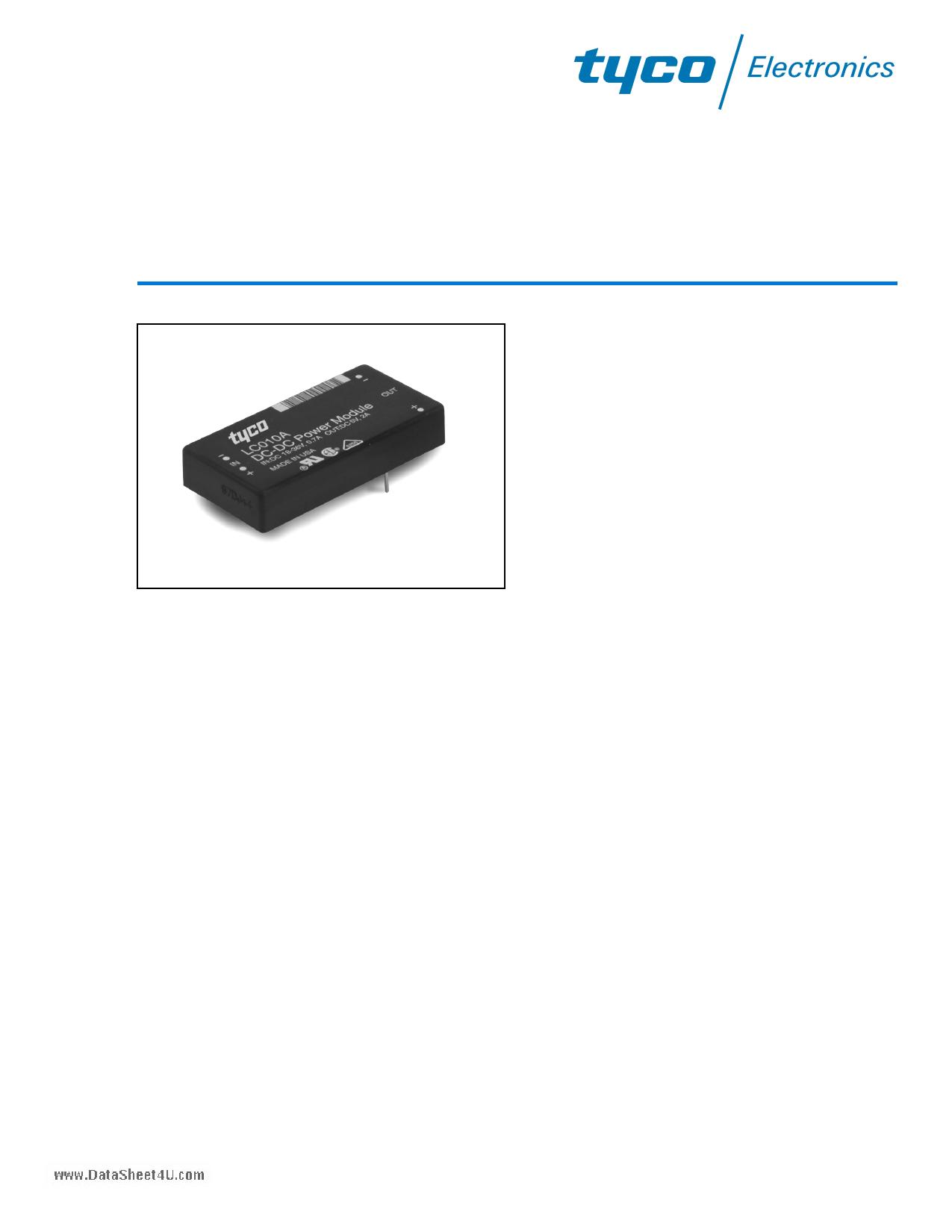 LC010C datasheet