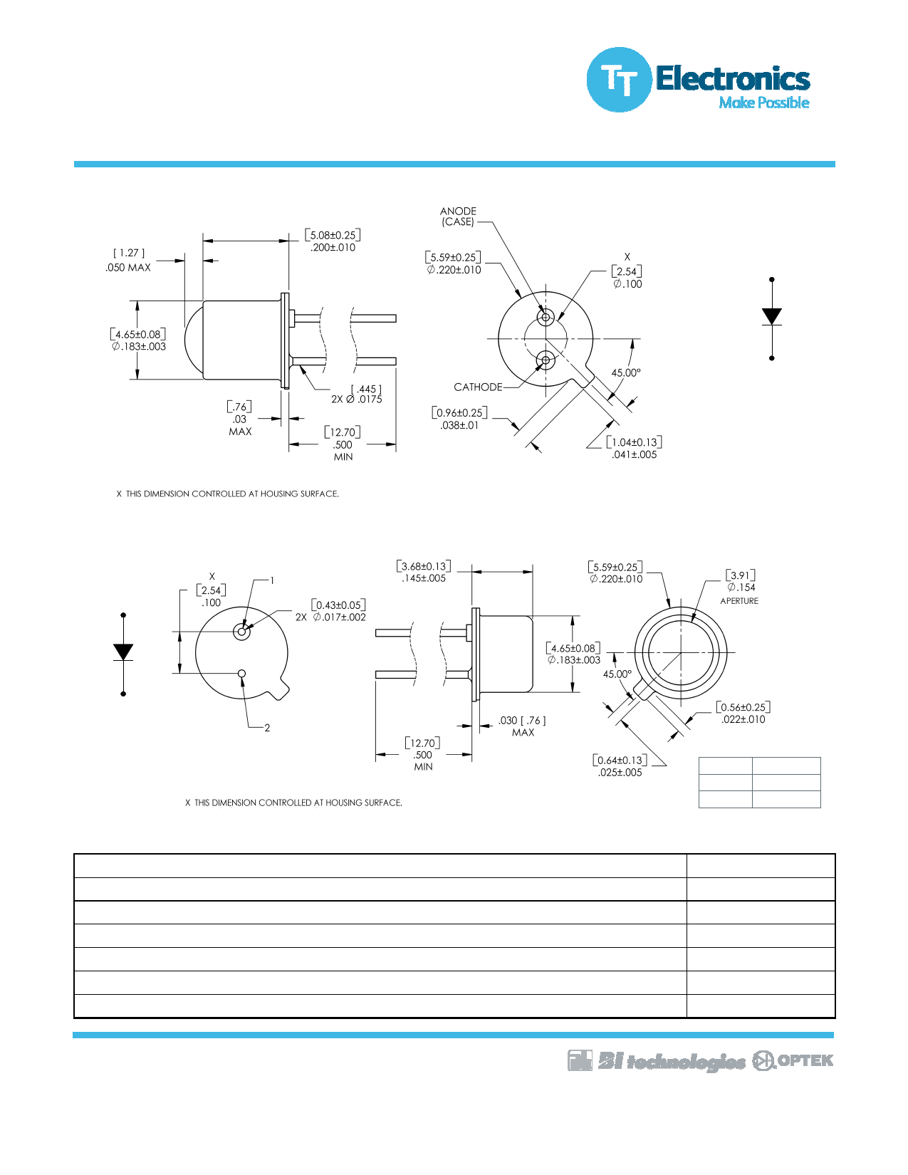 OP232W pdf, schematic