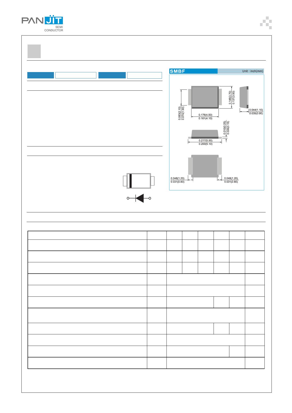UF2AF 데이터시트 및 UF2AF PDF