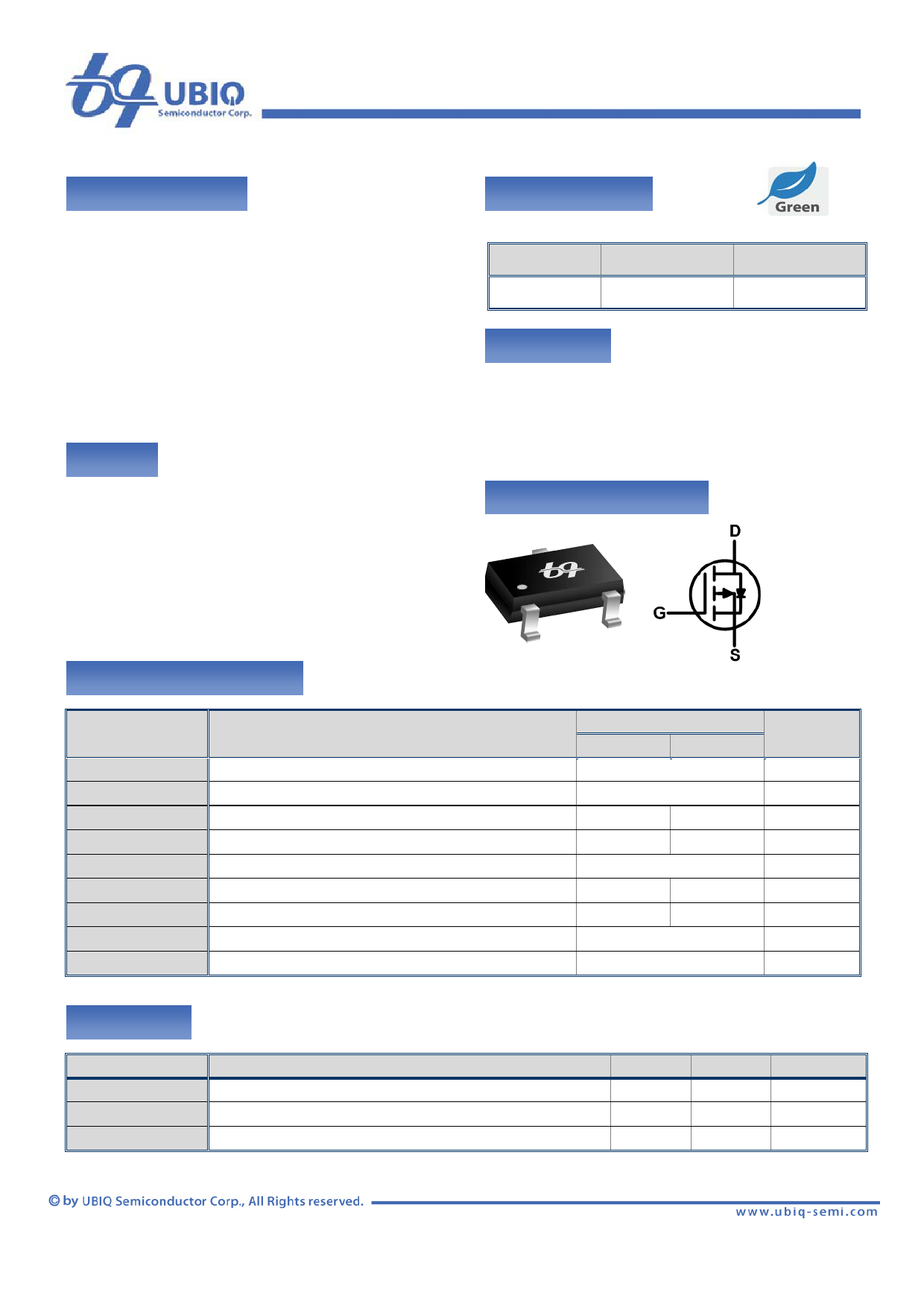 QM3001K Datenblatt PDF
