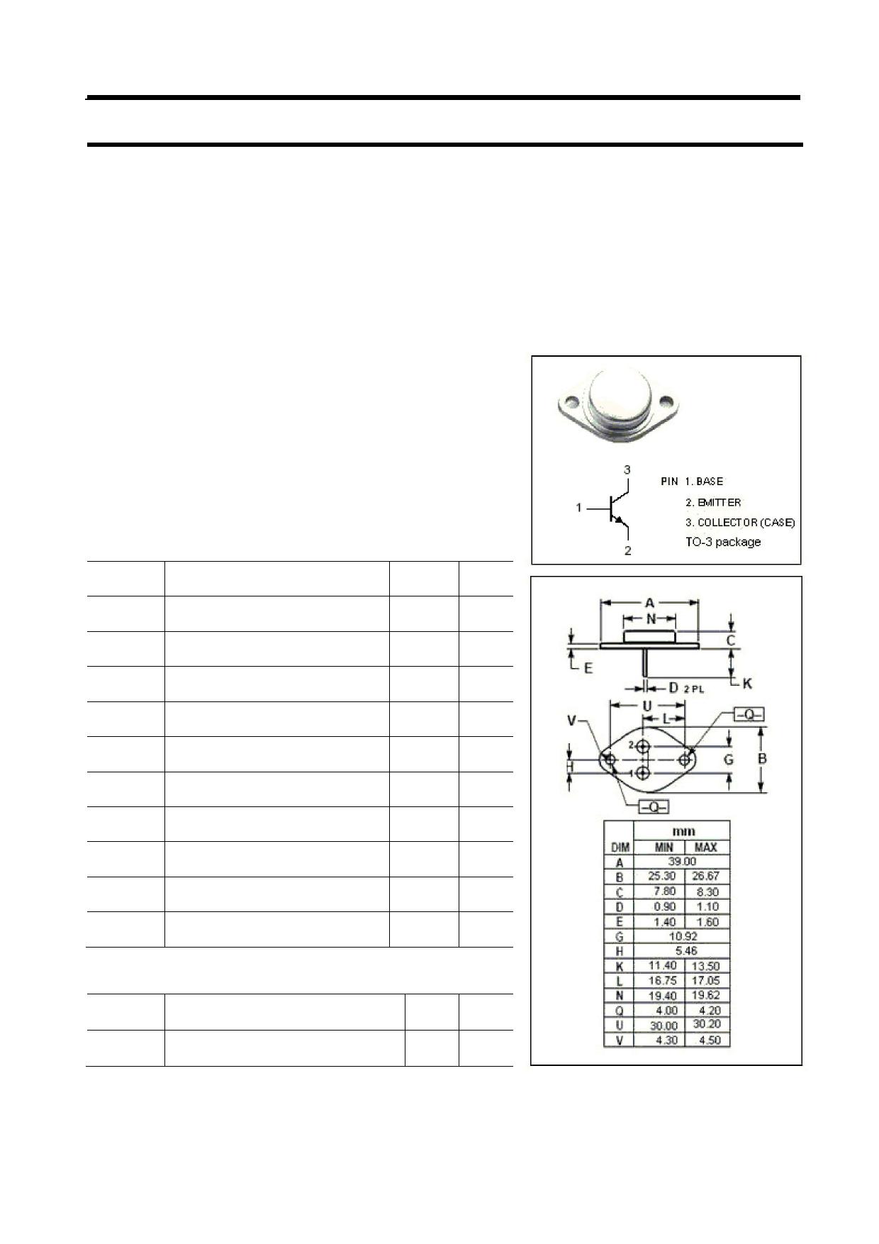 BUS48 Datasheet, BUS48 PDF,ピン配置, 機能