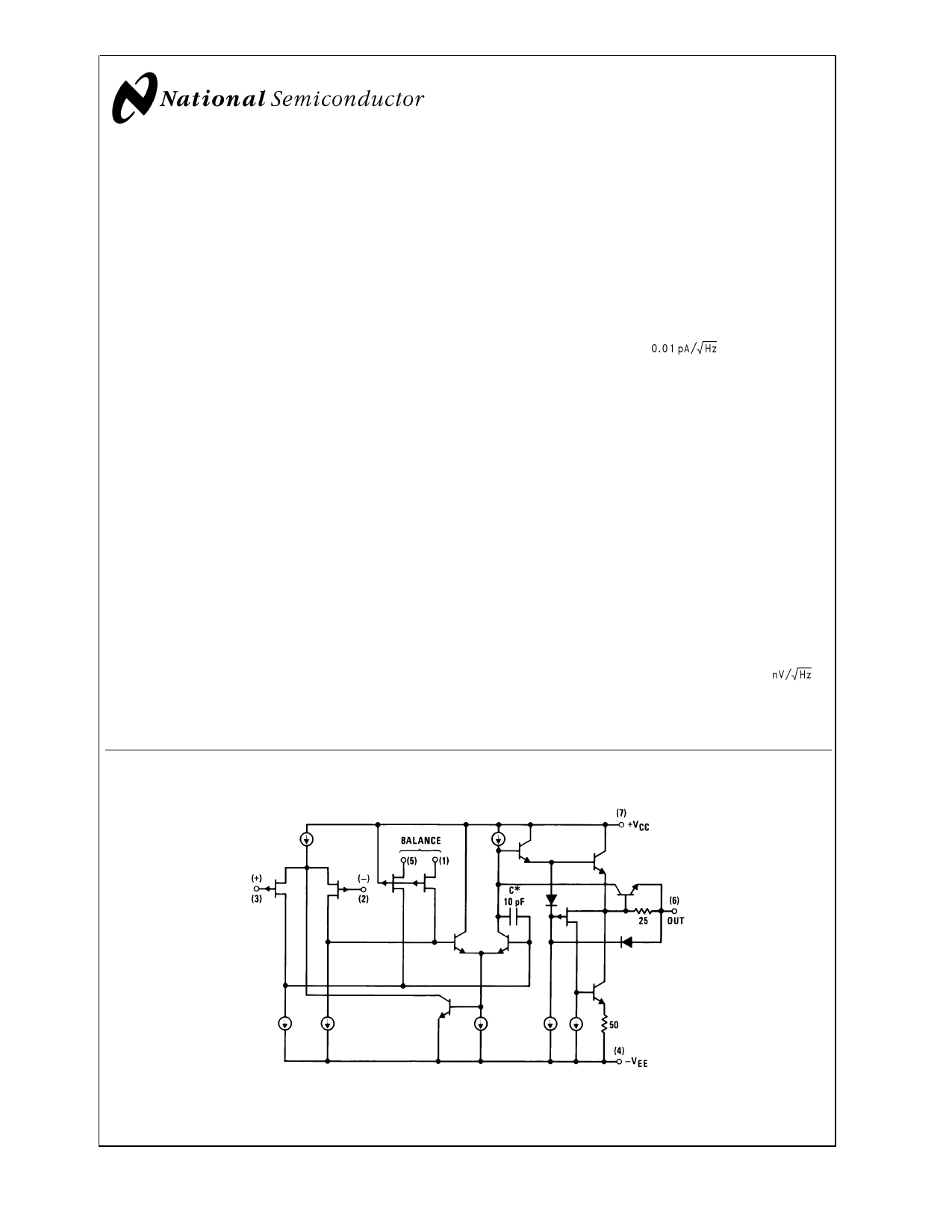 LF156 데이터시트 및 LF156 PDF