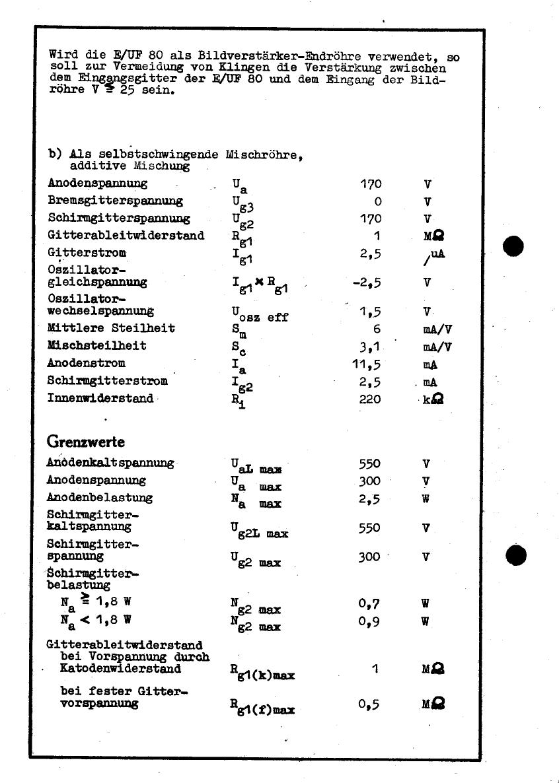 UF80 pdf, equivalent, schematic