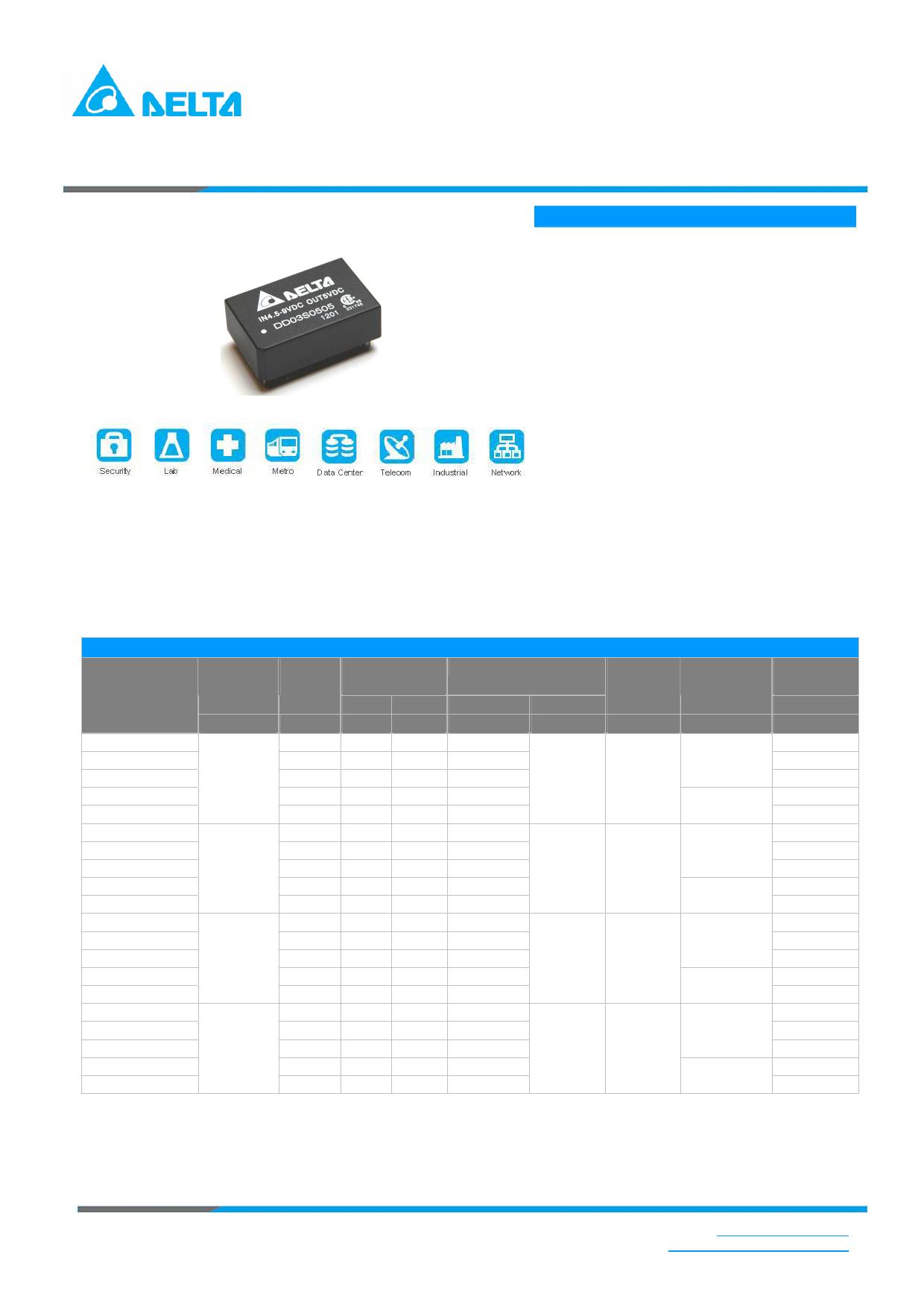 DD03S4812A 数据手册