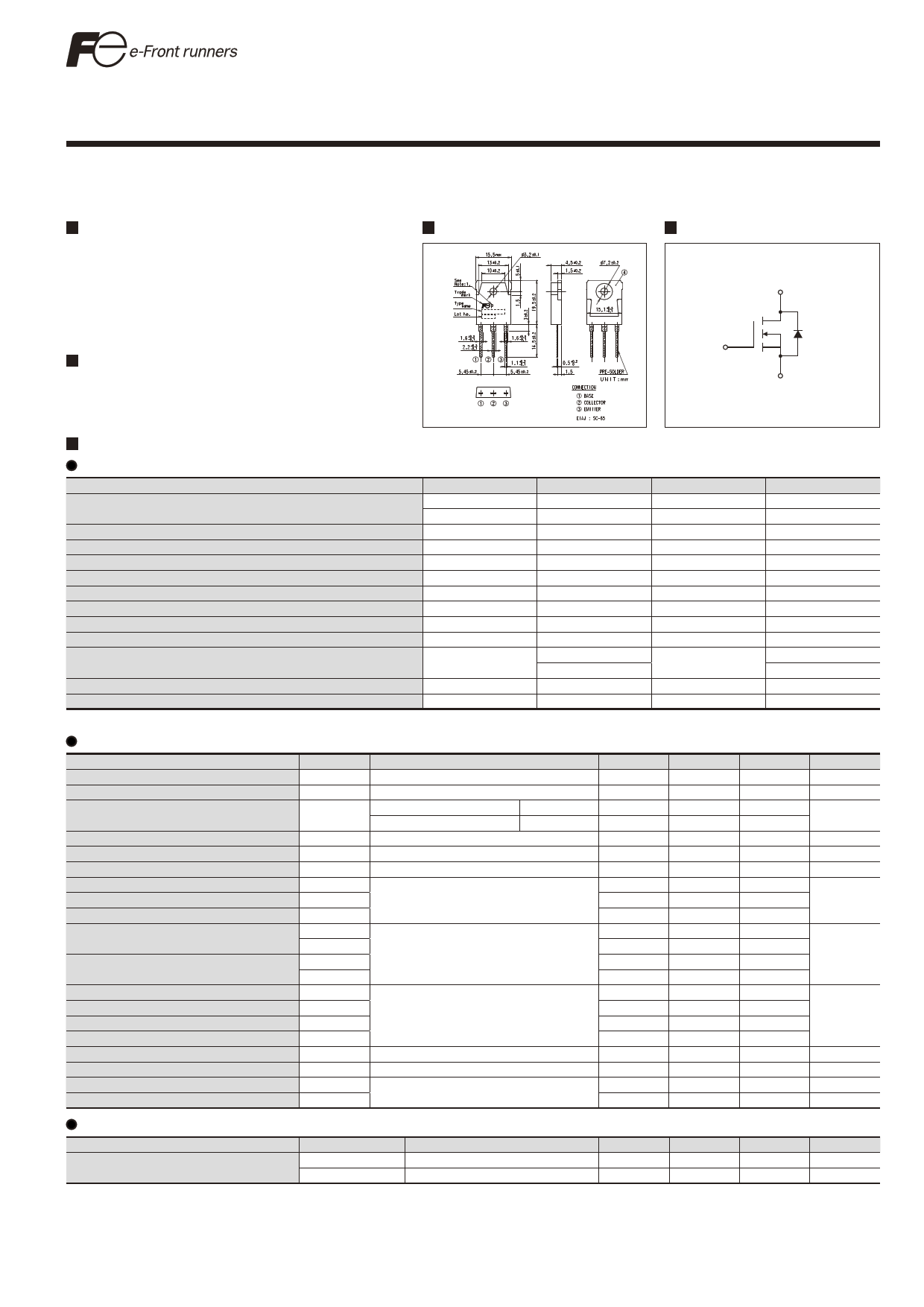 23N50E datasheet image