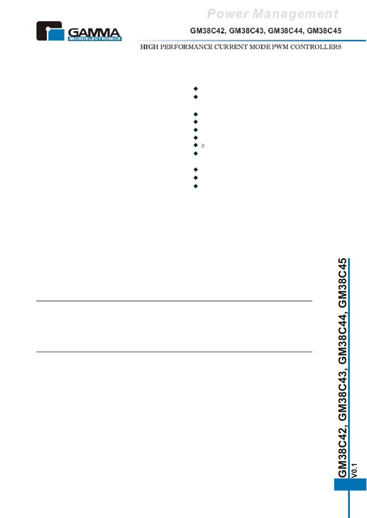 GM38C43 دیتاشیت PDF