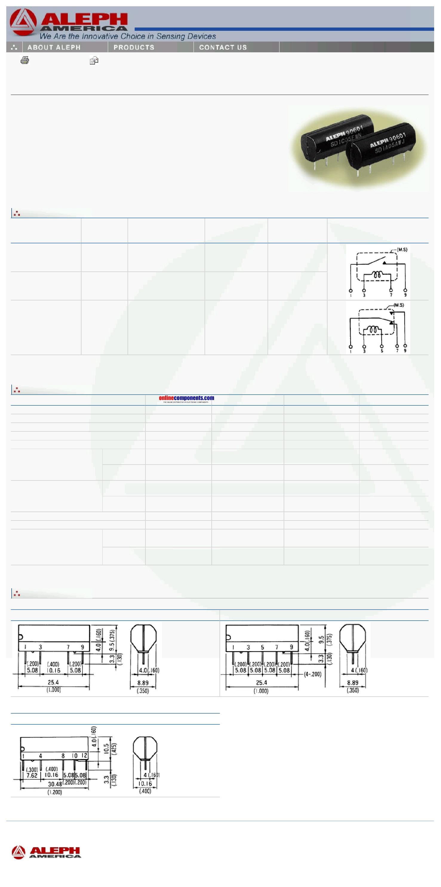 SD1A12DWJ دیتاشیت PDF