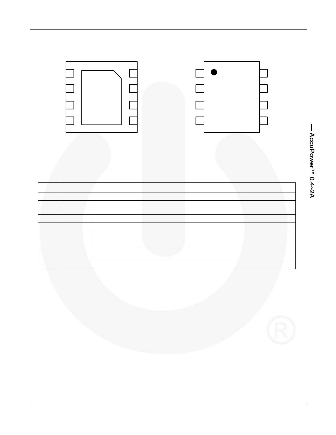 FPF2701 pdf, 電子部品, 半導体, ピン配列