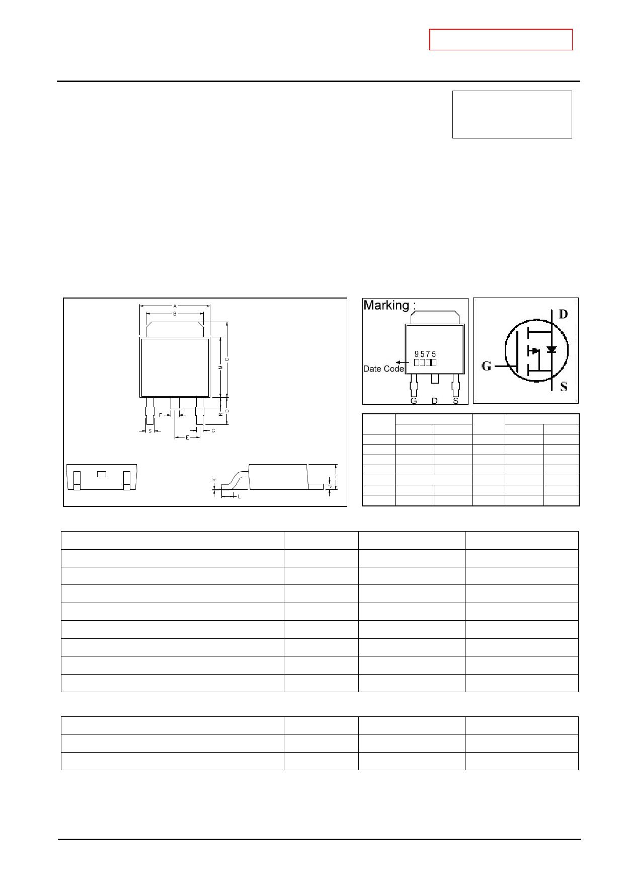 GJ9575 دیتاشیت PDF