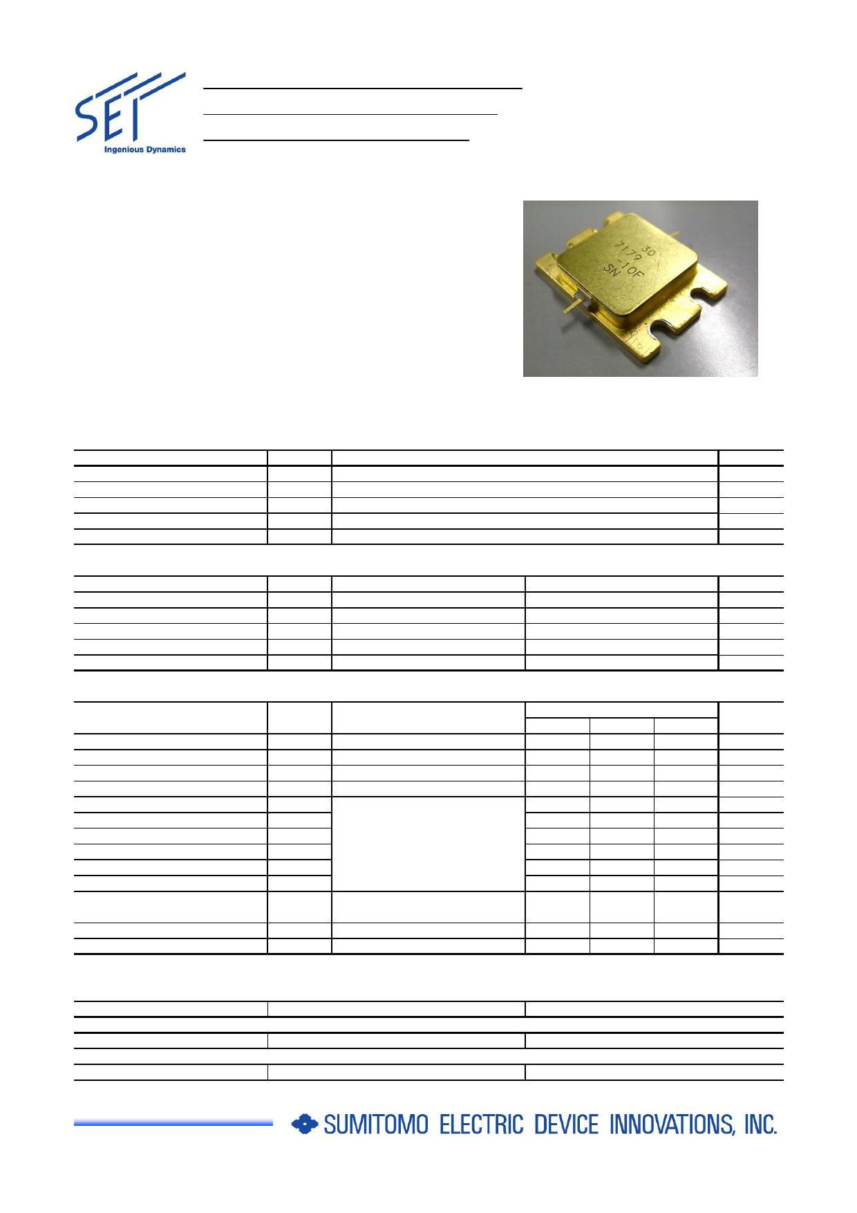 ELM7179-10F Datasheet, ELM7179-10F PDF,ピン配置, 機能