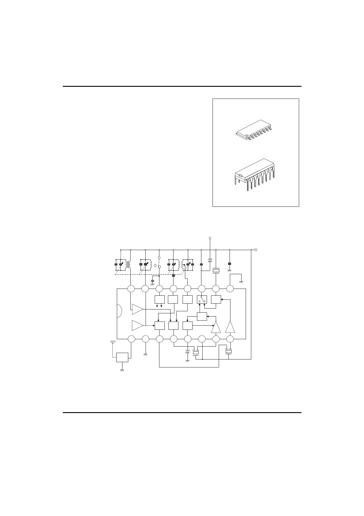 utcta2003 datasheet pdf   pinout    fm radio ic